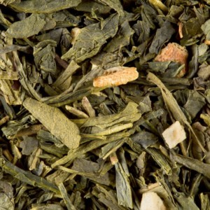 Christmas Tea Vert vrac Thé Vert Parfumé de Noël