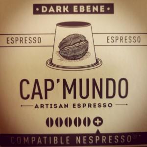 Capsules Dark Ébène x10 Cap'Mundo