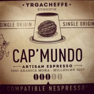 Capsules Yrgacheffe x10 Cap'Mundo